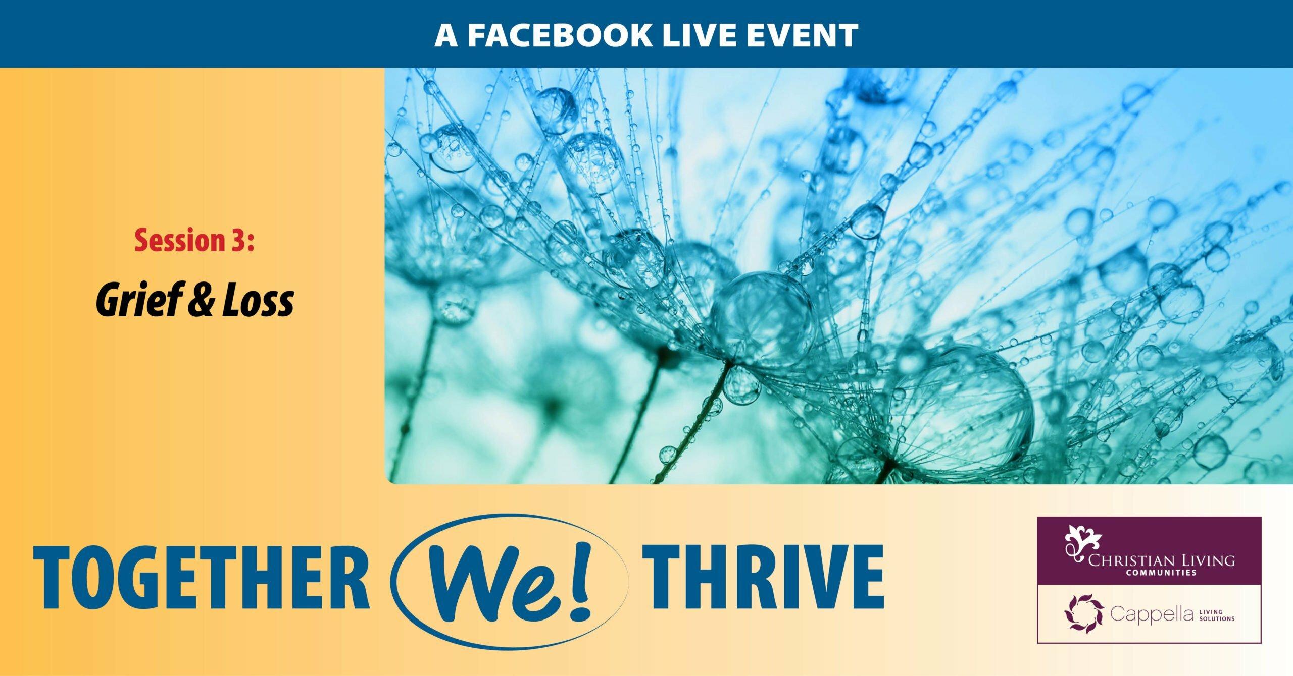 together we thrive facebook event